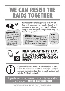 resist raids
